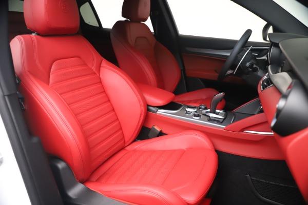 New 2021 Alfa Romeo Stelvio Ti Sport Q4 for sale Sold at Bugatti of Greenwich in Greenwich CT 06830 20