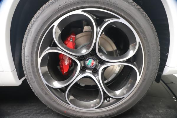 New 2021 Alfa Romeo Stelvio Ti Sport Q4 for sale Sold at Bugatti of Greenwich in Greenwich CT 06830 22