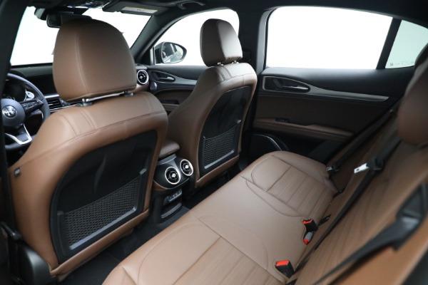 New 2021 Alfa Romeo Stelvio Ti Sport Q4 for sale Sold at Bugatti of Greenwich in Greenwich CT 06830 15