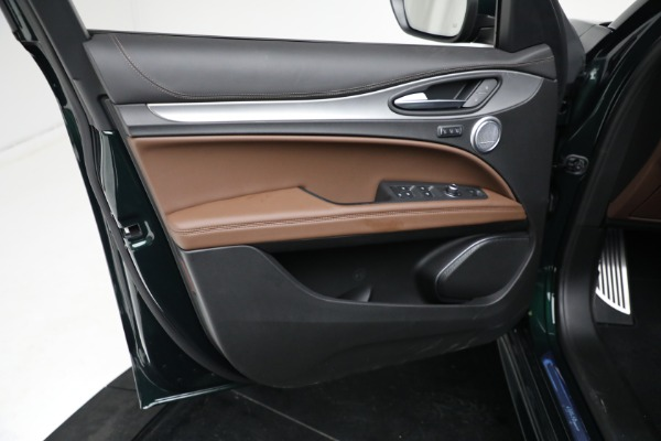 New 2021 Alfa Romeo Stelvio Ti Sport Q4 for sale Sold at Bugatti of Greenwich in Greenwich CT 06830 16