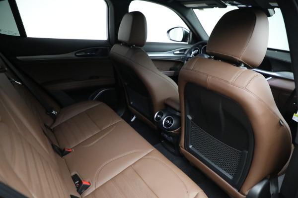 New 2021 Alfa Romeo Stelvio Ti Sport Q4 for sale Sold at Bugatti of Greenwich in Greenwich CT 06830 21