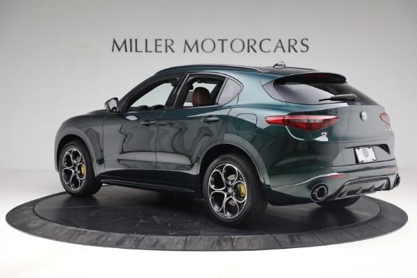 New 2021 Alfa Romeo Stelvio Ti Sport Q4 for sale Sold at Bugatti of Greenwich in Greenwich CT 06830 4