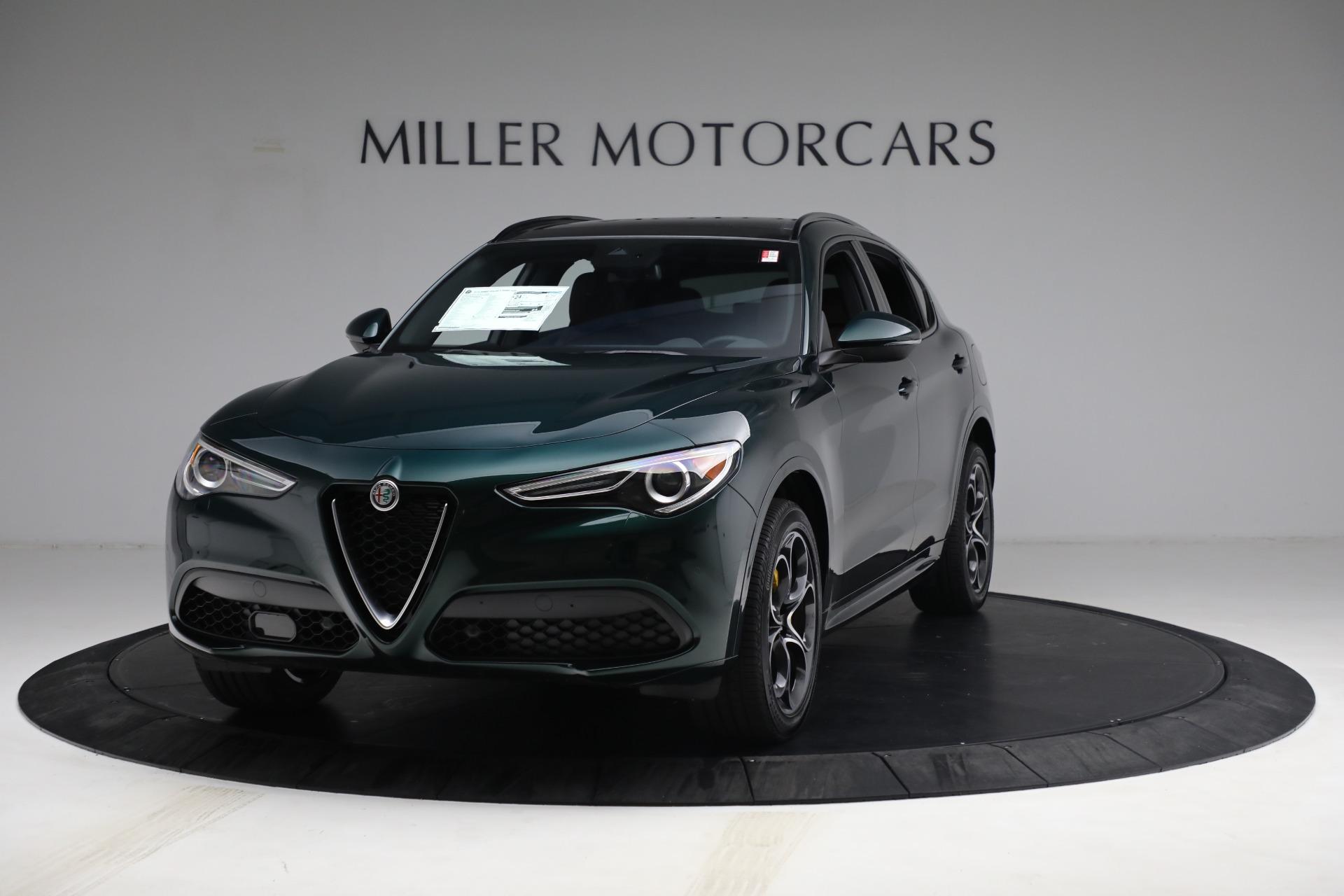 New 2021 Alfa Romeo Stelvio Ti Sport Q4 for sale Sold at Bugatti of Greenwich in Greenwich CT 06830 1