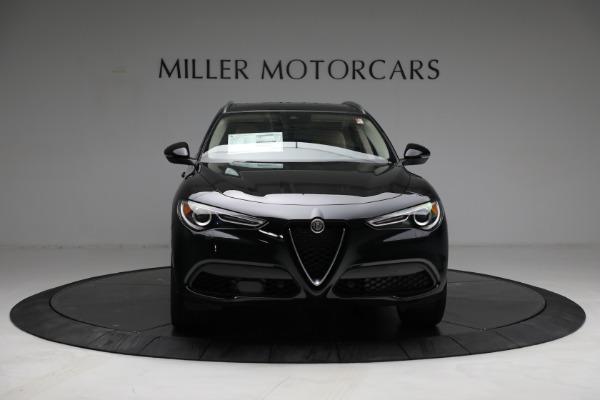 New 2021 Alfa Romeo Stelvio Ti Lusso Q4 for sale $57,400 at Bugatti of Greenwich in Greenwich CT 06830 12