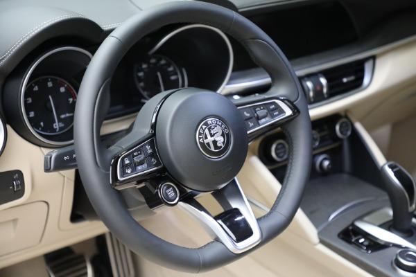New 2021 Alfa Romeo Stelvio Ti Lusso Q4 for sale $57,400 at Bugatti of Greenwich in Greenwich CT 06830 19