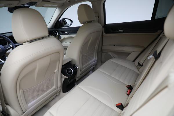 New 2021 Alfa Romeo Stelvio Ti Lusso Q4 for sale $57,400 at Bugatti of Greenwich in Greenwich CT 06830 25