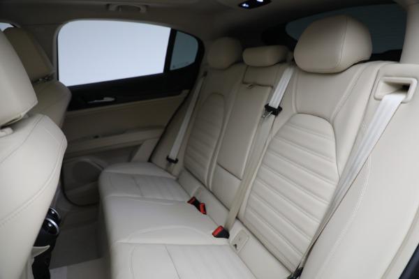New 2021 Alfa Romeo Stelvio Ti Lusso Q4 for sale $57,400 at Bugatti of Greenwich in Greenwich CT 06830 27