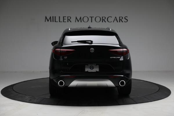 New 2021 Alfa Romeo Stelvio Ti Lusso Q4 for sale $57,400 at Bugatti of Greenwich in Greenwich CT 06830 6