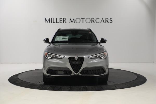 New 2021 Alfa Romeo Stelvio Ti Q4 for sale $54,400 at Bugatti of Greenwich in Greenwich CT 06830 11