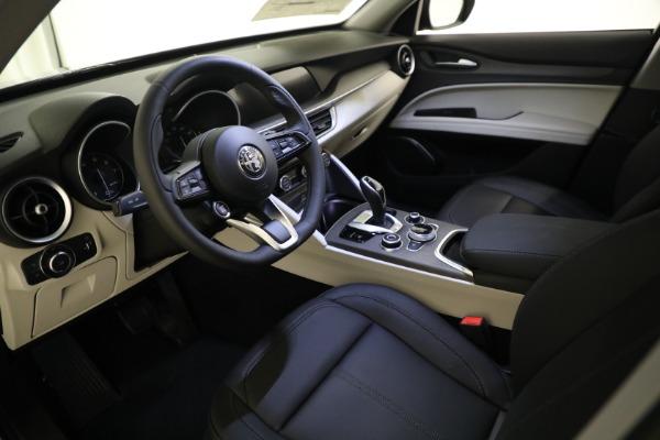 New 2021 Alfa Romeo Stelvio Ti Q4 for sale $54,400 at Bugatti of Greenwich in Greenwich CT 06830 12