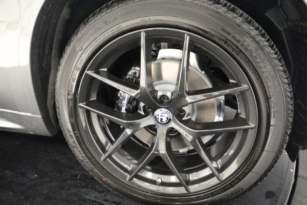 New 2021 Alfa Romeo Stelvio Ti Q4 for sale $54,400 at Bugatti of Greenwich in Greenwich CT 06830 25