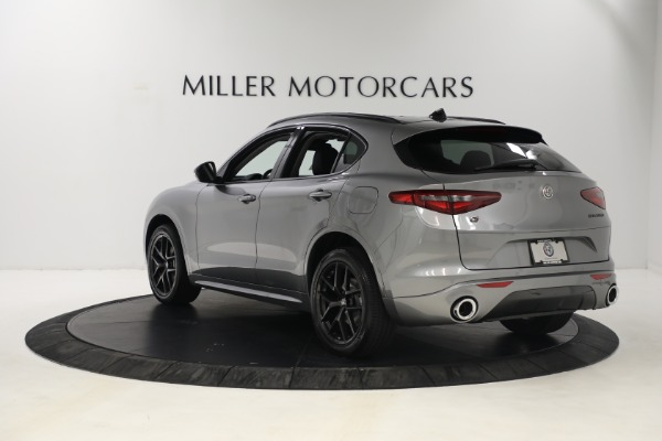 New 2021 Alfa Romeo Stelvio Ti Q4 for sale $54,400 at Bugatti of Greenwich in Greenwich CT 06830 5