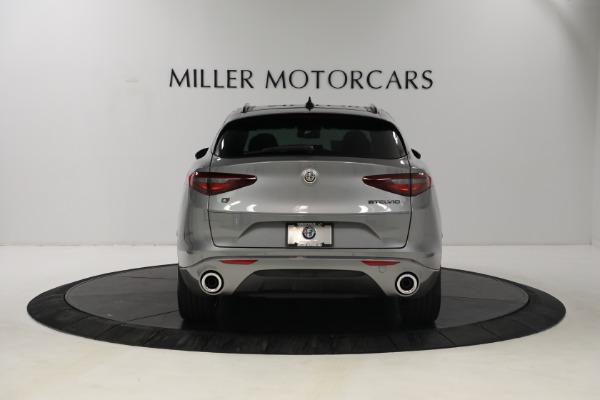 New 2021 Alfa Romeo Stelvio Ti Q4 for sale $54,400 at Bugatti of Greenwich in Greenwich CT 06830 6
