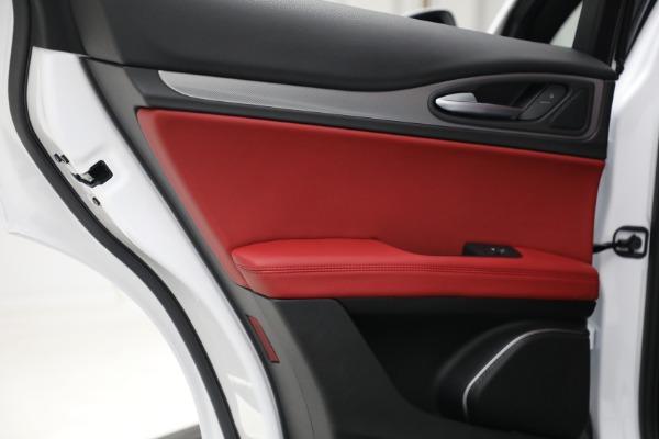 New 2021 Alfa Romeo Stelvio Ti Sport Q4 for sale Sold at Bugatti of Greenwich in Greenwich CT 06830 25