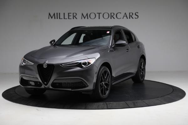 New 2021 Alfa Romeo Stelvio Ti Sport Q4 for sale $55,205 at Bugatti of Greenwich in Greenwich CT 06830 1