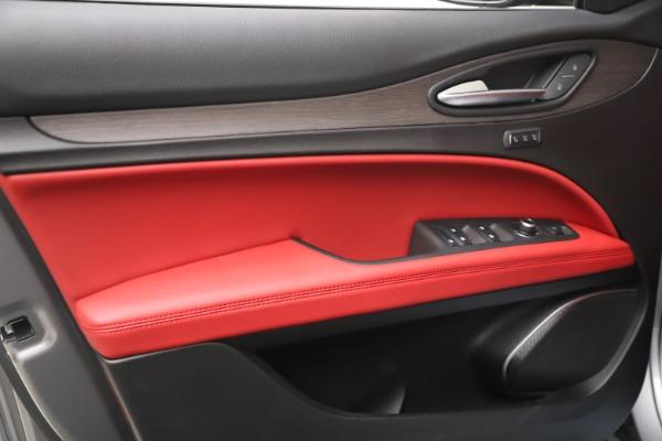New 2021 Alfa Romeo Stelvio Ti Q4 for sale $54,400 at Bugatti of Greenwich in Greenwich CT 06830 13