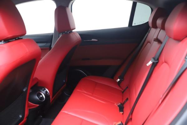 New 2021 Alfa Romeo Stelvio Ti Q4 for sale $54,400 at Bugatti of Greenwich in Greenwich CT 06830 14