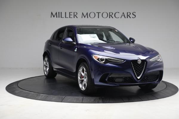New 2021 Alfa Romeo Stelvio Quadrifoglio for sale $88,550 at Bugatti of Greenwich in Greenwich CT 06830 11