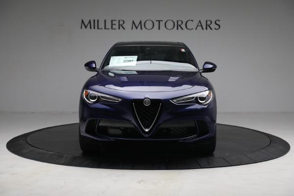 New 2021 Alfa Romeo Stelvio Quadrifoglio for sale $88,550 at Bugatti of Greenwich in Greenwich CT 06830 12