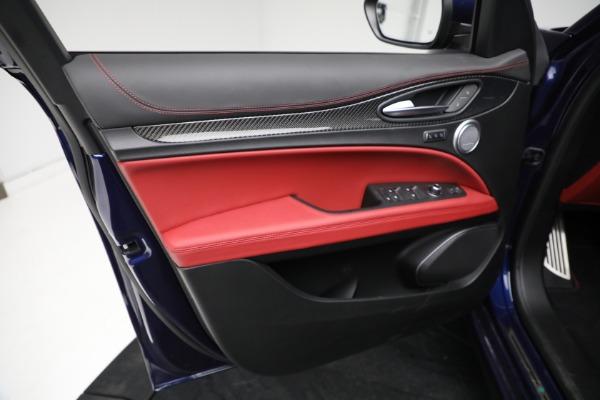 New 2021 Alfa Romeo Stelvio Quadrifoglio for sale $88,550 at Bugatti of Greenwich in Greenwich CT 06830 16