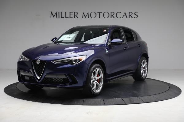 New 2021 Alfa Romeo Stelvio Quadrifoglio for sale $88,550 at Bugatti of Greenwich in Greenwich CT 06830 2