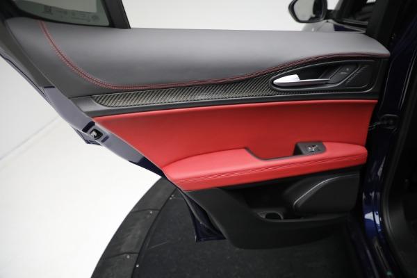 New 2021 Alfa Romeo Stelvio Quadrifoglio for sale $88,550 at Bugatti of Greenwich in Greenwich CT 06830 20