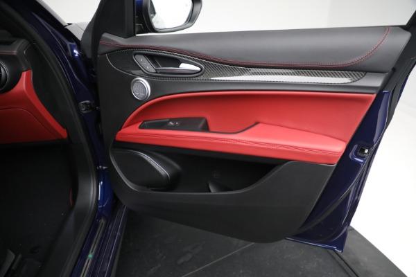 New 2021 Alfa Romeo Stelvio Quadrifoglio for sale $88,550 at Bugatti of Greenwich in Greenwich CT 06830 23