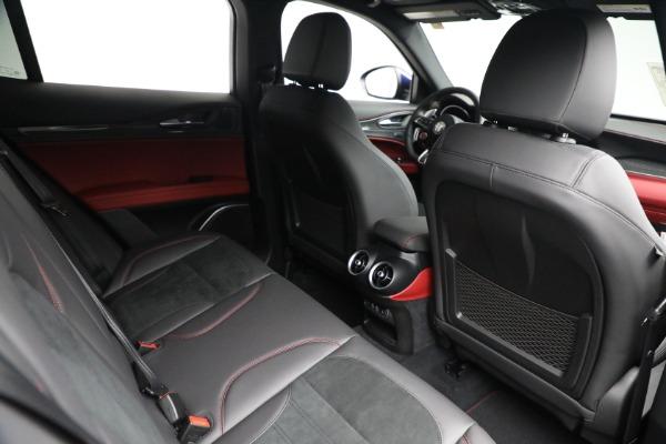 New 2021 Alfa Romeo Stelvio Quadrifoglio for sale $88,550 at Bugatti of Greenwich in Greenwich CT 06830 24