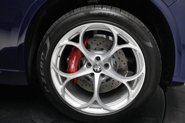 New 2021 Alfa Romeo Stelvio Quadrifoglio for sale $88,550 at Bugatti of Greenwich in Greenwich CT 06830 27