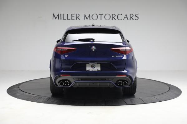 New 2021 Alfa Romeo Stelvio Quadrifoglio for sale $88,550 at Bugatti of Greenwich in Greenwich CT 06830 7