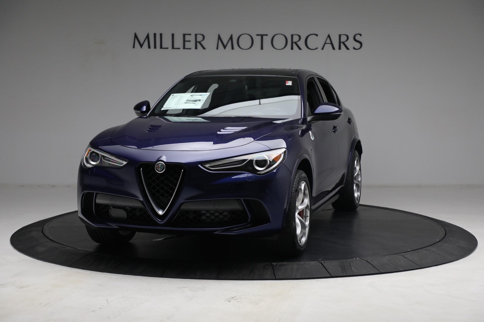 New 2021 Alfa Romeo Stelvio Quadrifoglio for sale $88,550 at Bugatti of Greenwich in Greenwich CT 06830 1
