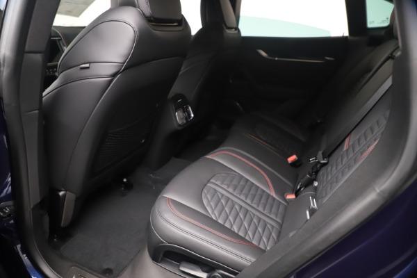 New 2021 Maserati Levante GranSport for sale Call for price at Bugatti of Greenwich in Greenwich CT 06830 16