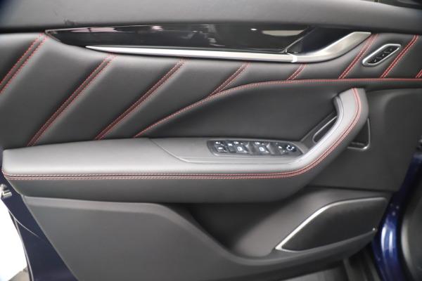 New 2021 Maserati Levante GranSport for sale Call for price at Bugatti of Greenwich in Greenwich CT 06830 17