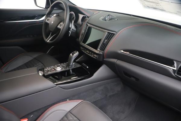 New 2021 Maserati Levante GranSport for sale Call for price at Bugatti of Greenwich in Greenwich CT 06830 18