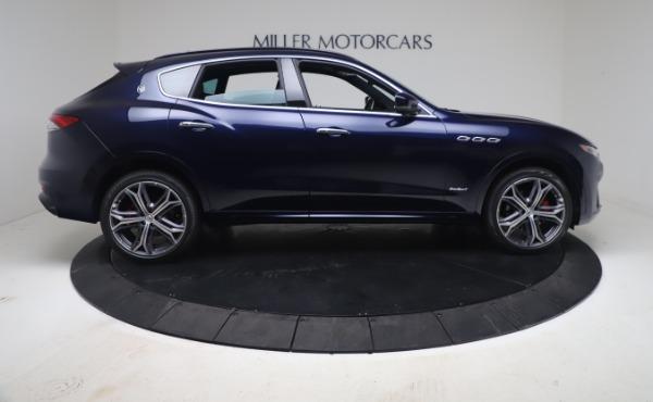 New 2021 Maserati Levante GranSport for sale Call for price at Bugatti of Greenwich in Greenwich CT 06830 9