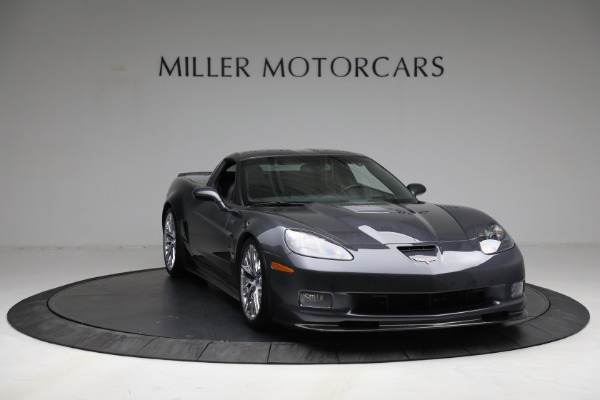 Used 2010 Chevrolet Corvette ZR1 for sale $85,900 at Bugatti of Greenwich in Greenwich CT 06830 11