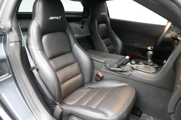 Used 2010 Chevrolet Corvette ZR1 for sale $85,900 at Bugatti of Greenwich in Greenwich CT 06830 18