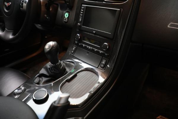 Used 2010 Chevrolet Corvette ZR1 for sale $85,900 at Bugatti of Greenwich in Greenwich CT 06830 21