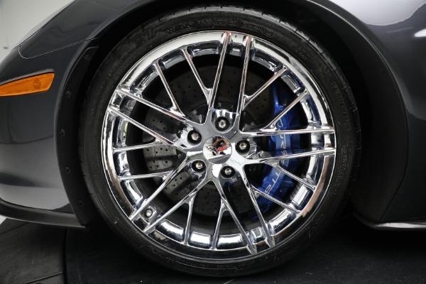 Used 2010 Chevrolet Corvette ZR1 for sale $85,900 at Bugatti of Greenwich in Greenwich CT 06830 23