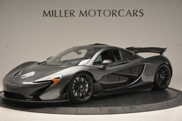 Used 2014 McLaren P1 for sale Call for price at Bugatti of Greenwich in Greenwich CT 06830 2