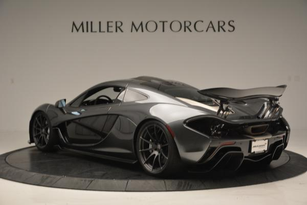 Used 2014 McLaren P1 for sale Call for price at Bugatti of Greenwich in Greenwich CT 06830 5