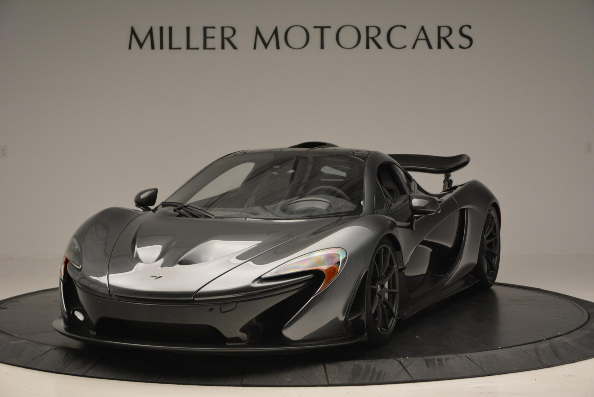 Used 2014 McLaren P1 Coupe for sale Call for price at Bugatti of Greenwich in Greenwich CT 06830 1