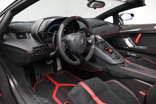 Used 2017 Lamborghini Aventador LP 750-4 SV for sale $599,900 at Bugatti of Greenwich in Greenwich CT 06830 19