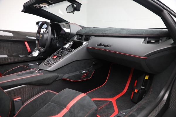Used 2017 Lamborghini Aventador LP 750-4 SV for sale $599,900 at Bugatti of Greenwich in Greenwich CT 06830 22