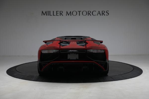 Used 2017 Lamborghini Aventador LP 750-4 SV for sale $599,900 at Bugatti of Greenwich in Greenwich CT 06830 6