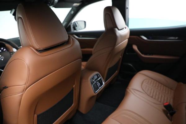 New 2021 Maserati Levante S GranSport for sale $112,899 at Bugatti of Greenwich in Greenwich CT 06830 17