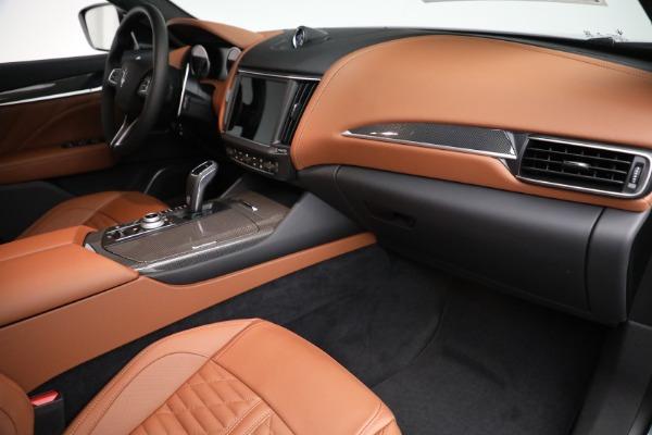 New 2021 Maserati Levante S GranSport for sale $112,899 at Bugatti of Greenwich in Greenwich CT 06830 19