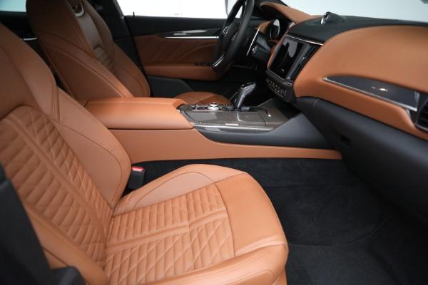 New 2021 Maserati Levante S GranSport for sale $112,899 at Bugatti of Greenwich in Greenwich CT 06830 20