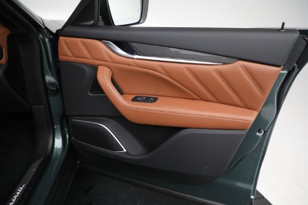 New 2021 Maserati Levante S GranSport for sale $112,899 at Bugatti of Greenwich in Greenwich CT 06830 21
