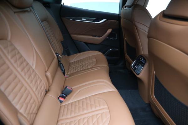 New 2021 Maserati Levante S GranSport for sale $112,899 at Bugatti of Greenwich in Greenwich CT 06830 23